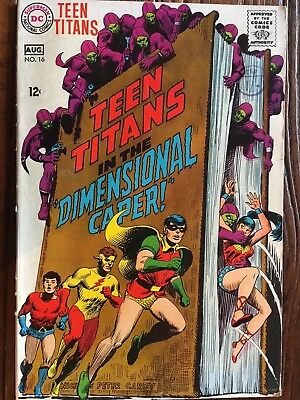 Teen Titans 16 Dc Comics