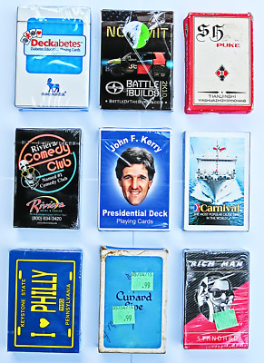 Playing Cards - Mixed Decks