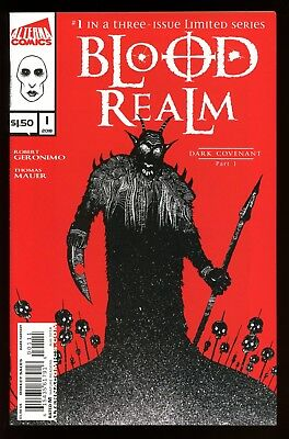 Blood Realm   #1  * First Print *    Nm