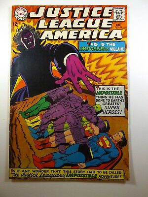 The Justice League of America #59 vs The Impossible Villain! Solid VG+ Condition