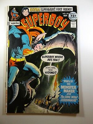 """Superboy #178 """"Pawn of The Monster Maker!"""" Gorgeous Fine+ Condition!!"""