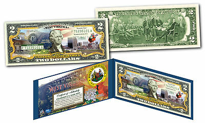 WEST VIRGINIA Genuine Legal Tender $2 Bill USA Honoring America's 50 States