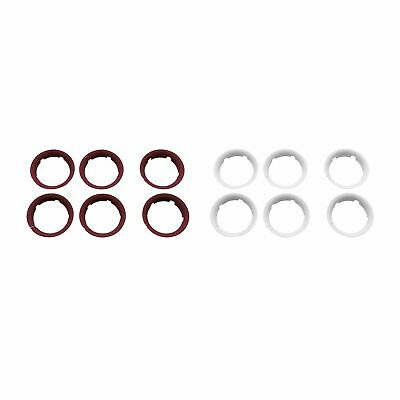 Bugaboo Bee 5 Replacement Pushchair / Stroller / Buggy Wheel Caps - Set Of 6