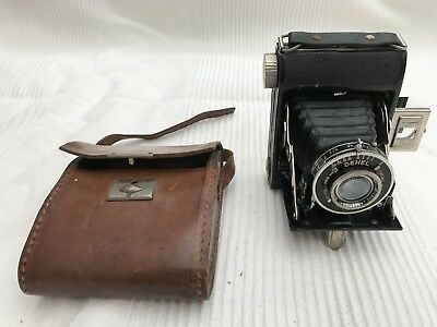Rare Vintage DEHEL' 1930's French BELLOWS AGC Camera Not Tested