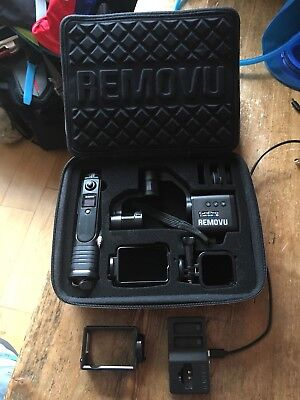 Removu S1 Hero 4/5/6 And Sessions, 3 axis Gimbal For Gopro Cameras
