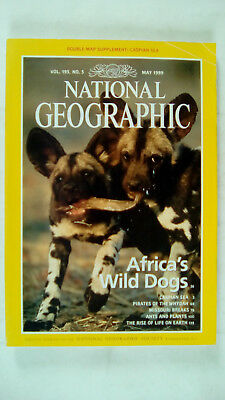 National Geographic Magazine Volume 195 Number 5 May 1999 Africa's Wild Dogs