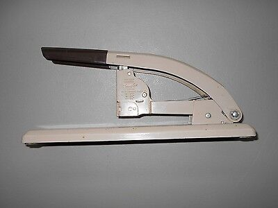Swingline Model 113 Heavy Duty Metal Stapler Vintage Retro Two Tone