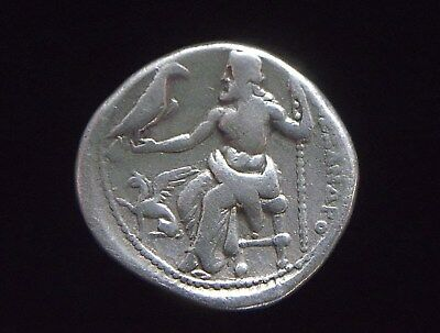 Greek Silver Drachm of Alexander III The Great, 336-323 BC,  CC9981