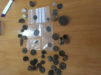 Metal Detecting Finds Lot 6 Including Roman Coins