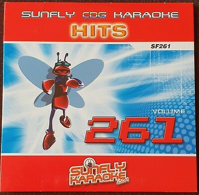 Sunfly Karaoke CD+G CDG His Nr.261 One 15 Classis Hits Audio + Graphic