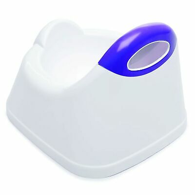 The Neat Nursery Co. Toilet Training Potty With Shaped Seat - White / Plum