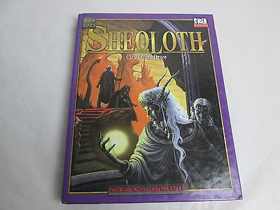 Sheoloth. City of the Drow. MGP5005, d20 System. Mongoose UK, 2003.