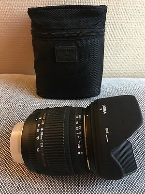 Sigma DC 18 mm - 50 mm f/1-2.8 for Nikon EX MACRO HSM #20251G