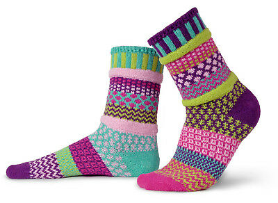 Saffron recycled cotton multicoloured odd-socksBy Solmate