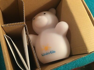 NEW Kinderglo Bear Portable Fun and Safe Rechargeable Night Light Glo Glowing