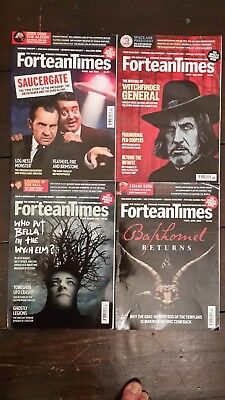 4 x Fortean Times Magazine Mar Apr May Jun