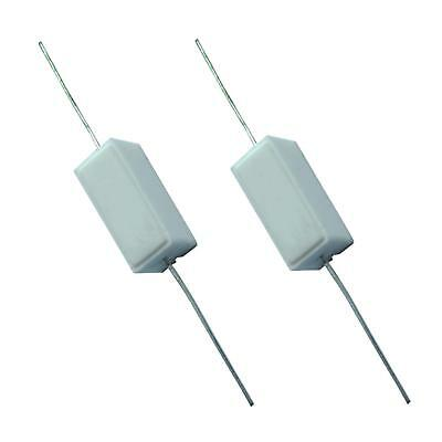 from £0.35/each 0.1ohm-100Kohm 5W Resistor High Power Ceramic
