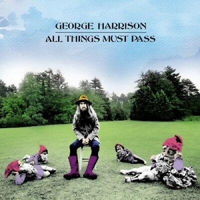 George Harrison All Things Must Past 2001 CD reissue PRESSING ERROR VERY RARE!!!