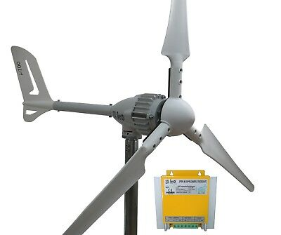 SET 700W 24V WINDGENERATOR, IstaBreeze® Hybrid LR WINDKRAFTANLAGE,WIND TURBINE
