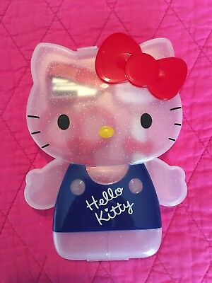 Hello Kitty Bow Case Stapler Scissors Pen Clip Sticky Note