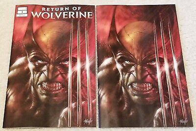 RETURN OF WOLVERINE 1 LUCIO PARRILLO VIRGIN VARIANT SET 2-PK 1st APP PERSEPHONE