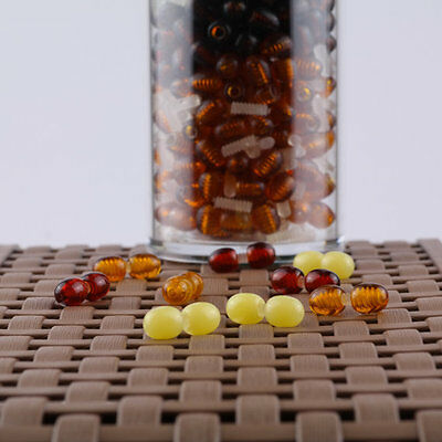 Polished Screw Clasps | Amber jewelry supplies | Plastic fastener,Quality clasps