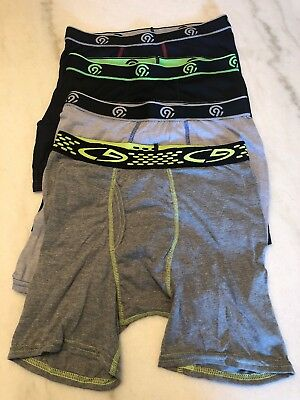 Champion Youth Large Athletic Boxer Breifs New 4 Pack