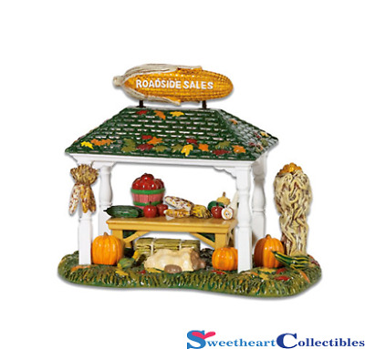 Department 56 Snow Village Roadside Produce Stand Retired 5655411