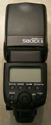 Canon Speedlite 580EX II Shoe Mount Flash for  Canon  NEVER USED, PERFECT SHAPE