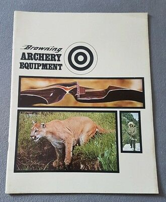 Browning Archery Equipment 1970