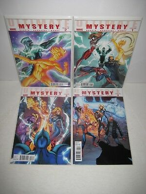 Marvel Ultimate Mystery 1 2 3 4 J. Scott Campbell COVERS! Complete