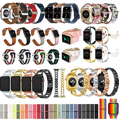 40/44mm iWatch Band Wrist Strap Bracelet Replacement for Apple Watch Series 5 4