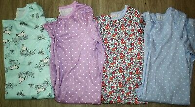 Six Carters And Llbean Fall/winter Nightgowns Size 8-10