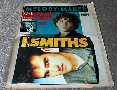 Melody Maker – 23.09.1989 – Michael Hutchence, The Smiths, Debbie Harry, Mission