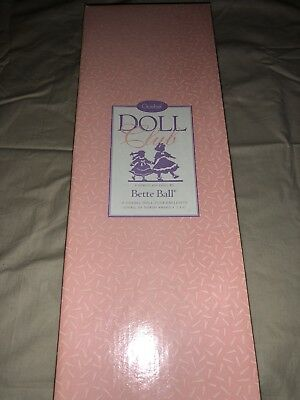 A Goebel Doll Club Exclusive By Bette Ball 1996