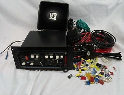 Code 3 Siren Switch Panel (3892L6) with Federal Signal BP100 Speaker