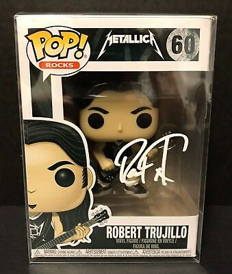 Metallica Funko POP Signed by Robert Trujillo
