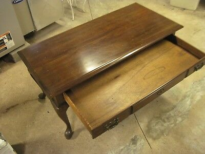 Vintage Sofa Hall Foyer Table Console 1975