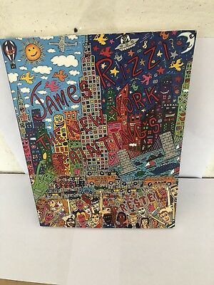 james rizzi the new york paintings