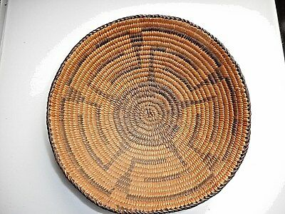 Southwestern Indian Vintage Native American Hand Woven Basket