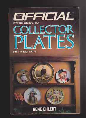 Official Price Guide to Collector Plates by Gene Ehlert 1988, Paperback ((R1217)