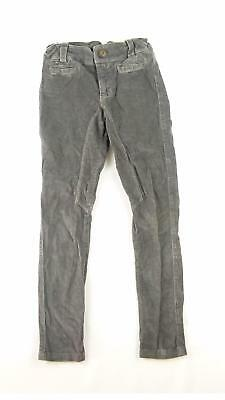 Zara Girls Grey Plain Trousers Age 9-10