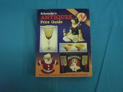 Vintage 1995 Thirteenth Edition Schroeder's Antiques Price Guide