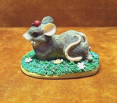 CHARMING TAILS ~ I'M THINKING OF YOU ~ 89/701 ~ Fitz & Floyd ~ FREE SHIPPING!