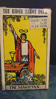 Authentic 1971 Vintage Rider Waite Tarot Cards The MAGICIAN 78 Card Deck SEALED