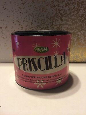 rare Lush Italy Bare Naked Lady dusting powder discontinued Priscilla 100 g
