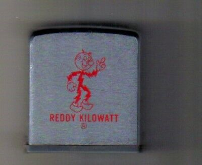 Reddy Kilowatt Zippo Tape Measure Rule Vintage