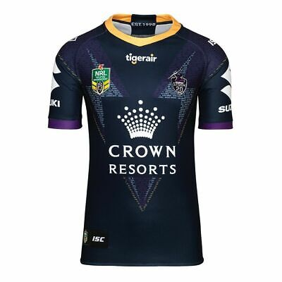 Melbourne Storm 2018 NRL ISC Heritage Jersey Mens Sizes S-XL! Clearance RRP$160!