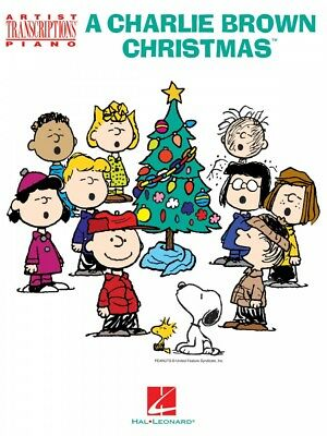 A Charlie Brown Christmas Sheet Music Artist Transcriptions for Piano 000278003