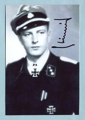 """""""Wiking"""" Pz. Knights Cross Signed Pic - Nicolussi-Leck"""